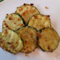 Parmesan Crusted Baked Zucchini Sticks with Marinara Sauce | Recipe ...