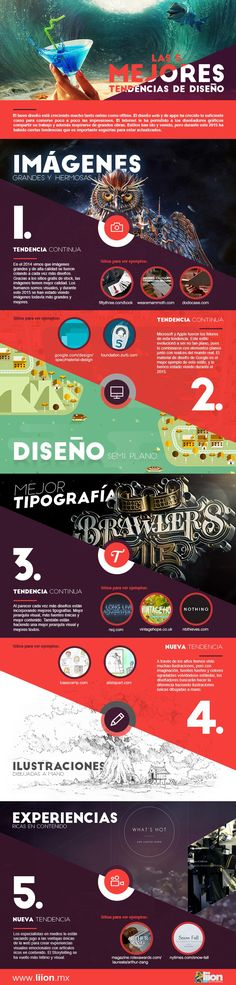 5 mejores tendencias de Diseño                                                                                                                                                                                 Más
