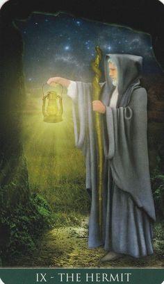 The Hermit Thelema Tarot