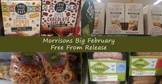 Morrisons Big February Free From Release