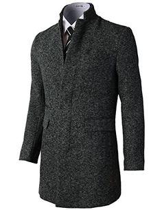 H2H Mens Hidden Buttons Mandarin Collar Single Breasted Half Coat With Pockets CHARCOAL US M/Asia XL (KMOCO088) H2H http://www.amazon.com/dp/B00PAOQGWW/ref=cm_sw_r_pi_dp_h.wDub00850SV