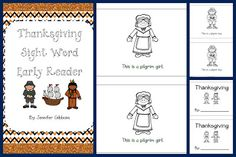 Cute emergent reader for Thanksgiving!