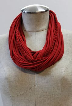 Red T-Scarf, $ goes to helping adoption