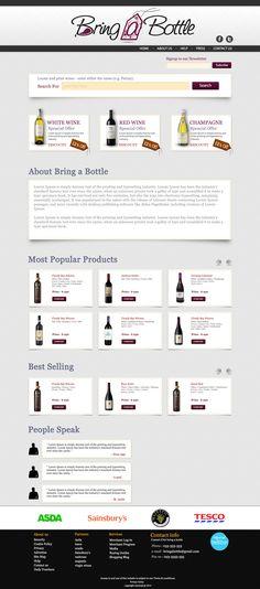 Design for bring a bottle