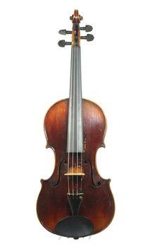 Mittenwalder #Meistergeige, Neuner & Hornsteiner, um 1830 - €3.500 online - http://www.corilon.com/shop/de/produkt1036_1.html