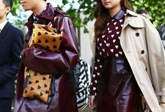 Street Style: London Fashion Week Spring 2014 |  photographed by Phil Oh