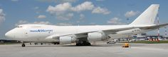 Trans Avia Export Belarus Boeing 747-200F freighter
