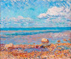 'Wickford, Low Tide', 1909, William Glackens, Nova Southeastern University Museum of Art.jpg