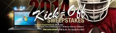 you might win a $1,500 notebook or one of 7 other cool prizes! http://www.neweggflash.com/promotions/sweepstakes/jan-01/sweepstakes.html