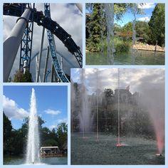 Mahlberg liegt nur wenige Autominuten vom beliebten Freizeitpark in Rust entfernt.  #edgarten #gartenblog #freizeitpark Niagara Falls, Collagen, Nature, Travel, Amusement Parks, Water Well, Germany, Naturaleza, Viajes