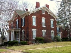 James M. Forney House in Des Moines County, Iowa.