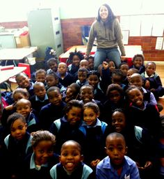Chelsie @Larisa Brown University just returned from Cape Town, South Africa, after volunteering for 3 weeks at the Physical Education program.   Thank you, Chelsie!