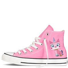 "Unikitty ""Happy"" Chucks"