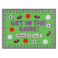 Sports+Theme+Classroom+Decorations | Found on clutterfreeclassroom.blogspot.com
