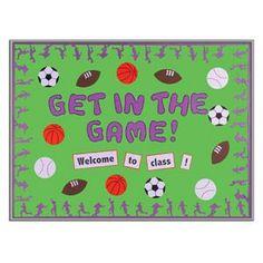 Sports+Theme+Classroom+Decorations | Found on clutterfreeclassroom.blogspot.com