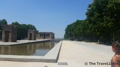 El Templo de Debod is an old #€gyptian #temple in the middle of the #city center in #Madrid.