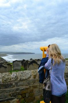 Exploring Whitby. What a sky. May, 2012.