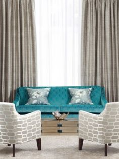 Top Color Trends for Fall 2012 - Peacock Blue, from HGTV