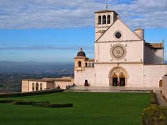 Assisi - Basilica of St. Francis - Frontal View