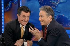 Colbert Report and Daily Show Shake Shit Up (Video)