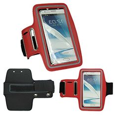 """myLife Stained Lips Red {Rain Resistant Velcro Secure Running Armband} Dual-Fit with Key Slot Jogging Arm Strap Holder for Samsung Galaxy Note 3 """"All Ports Accessible"""" myLife Brand Products http://www.amazon.com/dp/B00U7ZOUHW/ref=cm_sw_r_pi_dp_sPzhvb1KQDET1"""