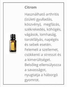 Citrus Lemon, Doterra, Essential Oils, Medical, Aromatherapy, Alternative, Medicine, Med School, Active Ingredient