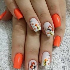 Get floral nail art and you're set to go. The patterns of floral nails art have gotten so intricate that it almost appears effortless. There are an assortment of things that could cause your nails to nice. Cute Spring Nails, Summer Nails, Cute Nails, Pretty Nails, Nail Designs Spring, Nail Art Designs, Nails Design, Gel Nails, Acrylic Nails