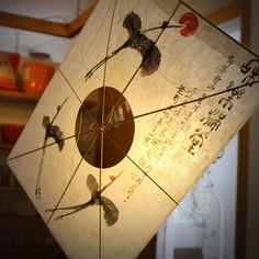 Three cranes yeon - Korean Traditional Kite made by cultural intangible asset in Busan Korea Home Decor Flying Kite Art wall hanging