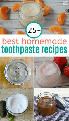 Homemade Toothpaste Recipes for a Healthy, Happy Mouth Learn why commercial toothpastes aren't the only way to a healthy and happy mouth, plus the BEST homemade toothpaste recipes for beautiful teeth! Toothpaste Recipe, Homemade Toothpaste, Herbal Toothpaste, All Natural Toothpaste, Coconut Oil Toothpaste, Homemade Skin Care, Homemade Beauty Products, Natural Products, Beautiful Teeth