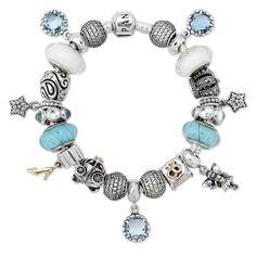 Pandora Glass Slipper Bracelet