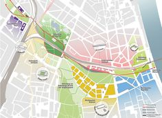 Participation: Einbindung im Stadtgebiet, © ASTOC Architects and Planners / GROSS.MAX. / ARGUS