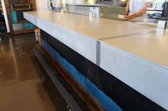 Our Custom Made Precast Concrete Countertops Are Designed And Built In Santa Cruz Fabrication Working Locally Serving The Sf Bay Area