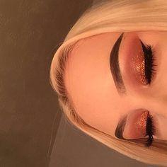 Gorgeous Makeup: Tips and Tricks With Eye Makeup and Eyeshadow – Makeup Design Ideas Makeup On Fleek, Flawless Makeup, Cute Makeup, Gorgeous Makeup, Pretty Makeup, Skin Makeup, Makeup Eyebrows, Awesome Makeup, Flawless Skin