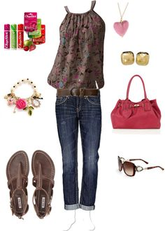 """Summer outfit"" by heather767 on Polyvore"