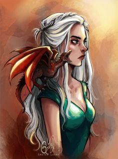 gretlusky | Daenerys Targaryen fan art