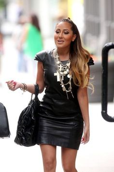 Glamorously Seductive Adrienne Bailon ...  Magnificent Hairstyles...   In 2005, she appeared in the film Coach Carter portraying the role of Dominique