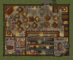 A large tavern, looks like a great place to hang out and catch up on the local rumors.