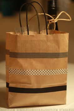 Paperbag.♥I see lots of #DIY #giftbags~dd♥
