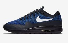 huge selection of 347c4 0af88 Nike Air Max 1 Ultra Flyknit Femme Homme Bleu Blanc Pas Cher Air Max 1  Essential