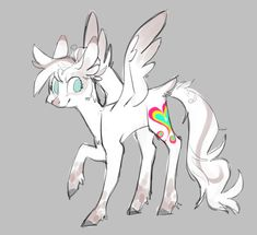 """bebbies: """" hey my ugly roommate @8xenon8 makes pony designs sometimes I still don't know what her name should be, Marble Dye? Marble Heart? they're too cheesy and I hate that, fix this science side of tumblr """""""