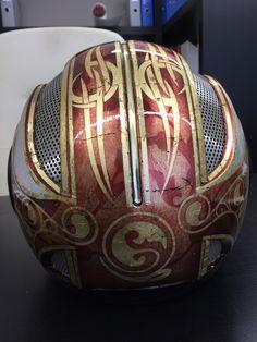 Helm Blattgold  Retro
