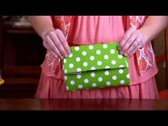 This clutch only costs a few bucks to make, but in a diaper changing emergency, it is priceless. Just fill it with a few diapers and some wipes, then stow it in your car or purse. The best part is the clutch becomes a changing pad so you'll never have to lay your baby down on any less-than-sanitary public changing tables. It is inexpensive and easy to make--check out this Diaper Clutch Craft Tutorial.