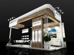 2015 by Leandro Domenes at Coroflot.com Exhibition Stall, Exhibition Stand Design, Trade Show Booth Design, Display Design, Exibition Design, Jewellery Shop Design, Lobby Design, Small Buildings, Facade Architecture