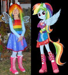 Rainbow Dash Equestria Girls age appropriate take on EQ!