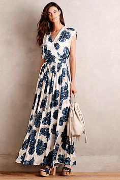Stunning, but way out of my price range! (Campanula Maxi Dress - anthropologie.com)