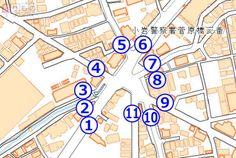 日本一? 「11叉路」! 複雑すぎる交差点、なぜできた?(画像12枚) | 乗りものニュース