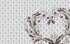 Damask and Heart