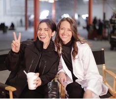 Shaw and Root (Sarah Shahi and Amy Acker)
