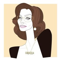 Sophia Loren illustration  #actress ganadora de un #oscar #dosmujeres #Objetivo : Convertirme en el #icon #elegant por excelencia • • #caratelia #illustration #illustrator #italia #barcelona #pictureoftheday #illustrationoftheday #graphicdesigner #graphicdesign #hollywood #film #goldenglobes #roma #loren #fashion #fashionblogger #versace #gucci #ferrari #dolcevita #dolcegabbana #portrait