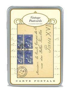 Cavallini Carte Postale Vintage Postcards #mappamundi #cavallini #cartepostale #postcards